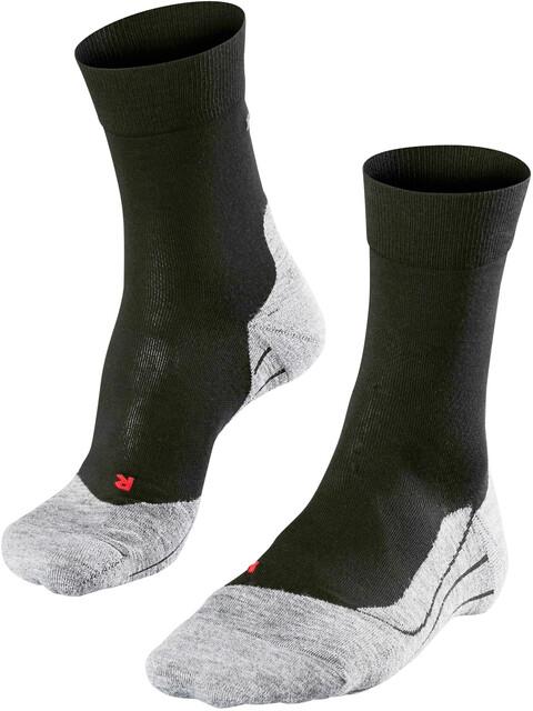 Falke RU4 - Chaussettes course à pied Femme - gris/noir